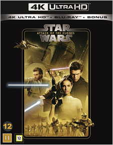 Star Wars: Attack of the Clones (Swedish Blu-ray Disc)