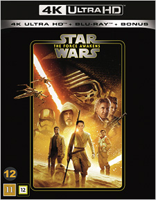 Star Wars: The Force Awakens (Swedish Blu-ray Disc)