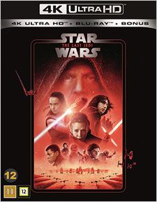 Star Wars: The Last Jedi (Swedish Blu-ray Disc)