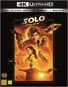 Solo: A Star Wars Story (Swedish Blu-ray Disc)