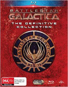 Battlestar Galactica: The Definitive Collection (Blu-ray Disc)