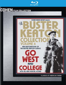 Buster Keaton Collection: Volume 4 (Blu-ray Disc)