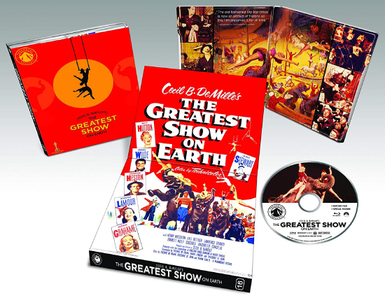 The Greatest Show on Earth (Blu-ray Disc)
