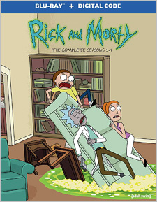 Rick and Morty: Seasons 1-4 (Blu-ray Disc)