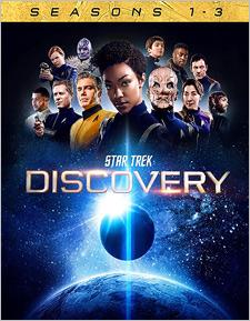 Star Trek: Discovery - Seasons 1-3 (Blu-ray Disc)