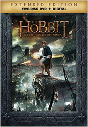 The Hobbit: The Battle of the Five Armies - Extended Edition (DVD)