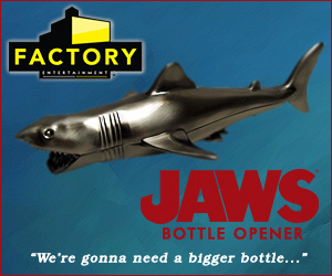 Buy the Jaws Bottle Opener at Factory Entertainment!