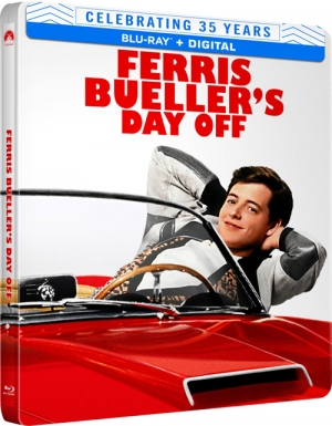 Ferris Bueller's Day Off (Steelbook Blu-ray)