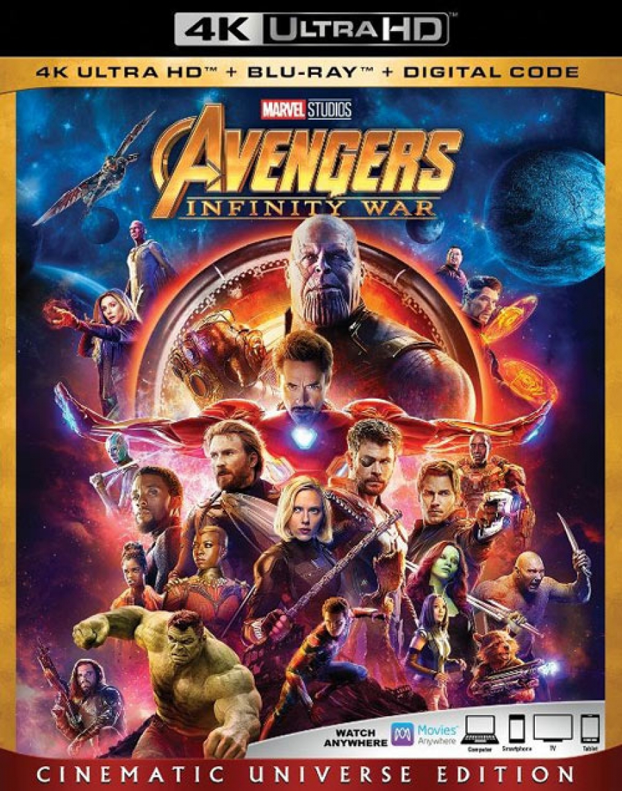 Avengers: Infinity War official, plus Avengers, Age of