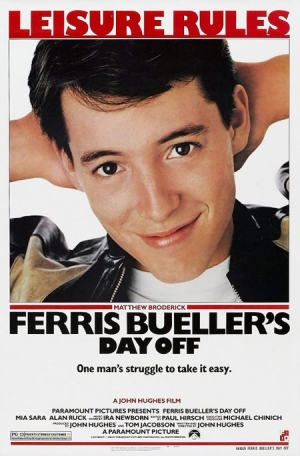 Ferris Bueller's Day Off one sheet
