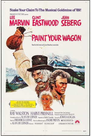 Paint Your Wagon one sheet