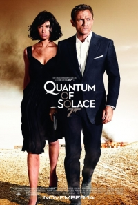 Quantum of Solace one sheet