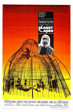 Planet of the Apes one sheet