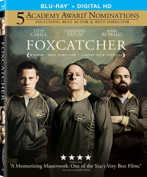 Foxcatcher on Blu-ray Disc