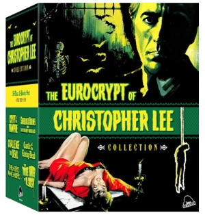 Severin's Eurocrypt of Christopher Lee Collection (Blu-ray Disc)