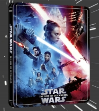 Star Wars: The Rise of Skywalker (4K Ultra HD - Zavvi Steelbook exclusive)