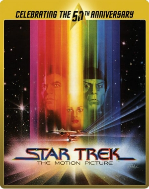 The Star Trek: The Motion Picture 50th Anniversary Steelbook Blu-ray