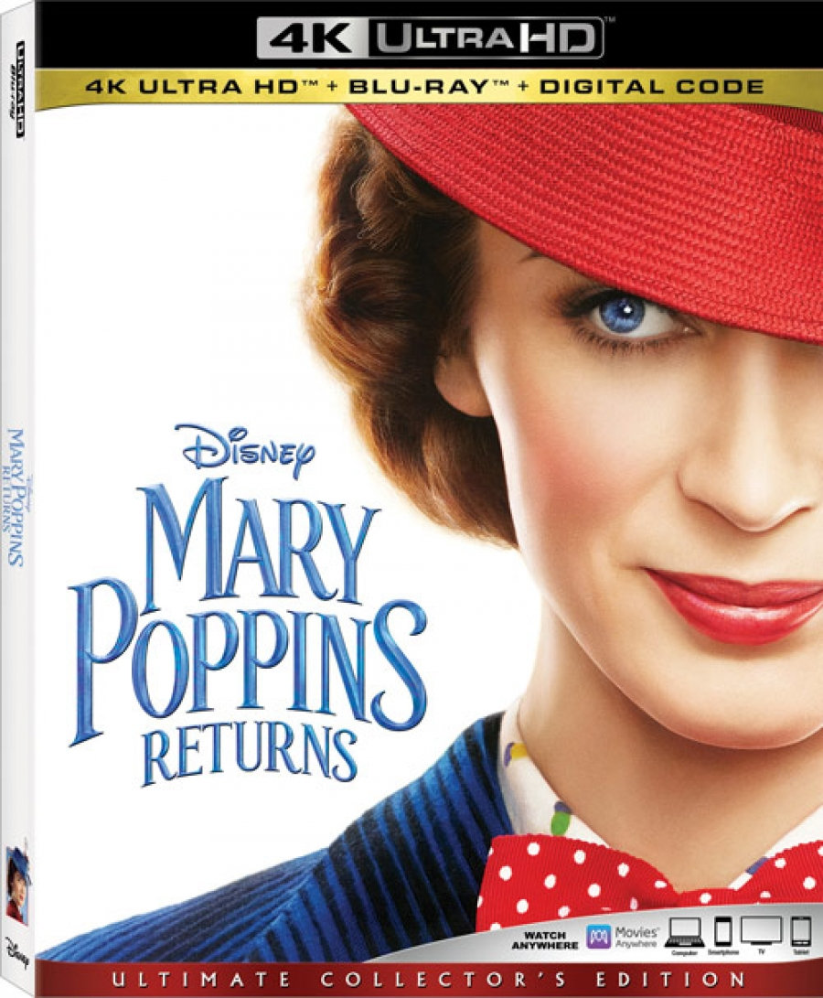 Disney makes Mary Poppins Returns official for Blu-ray, DVD