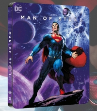 Man of Steel (4K Ultra HD - Zavvi Steelbook exclusive)