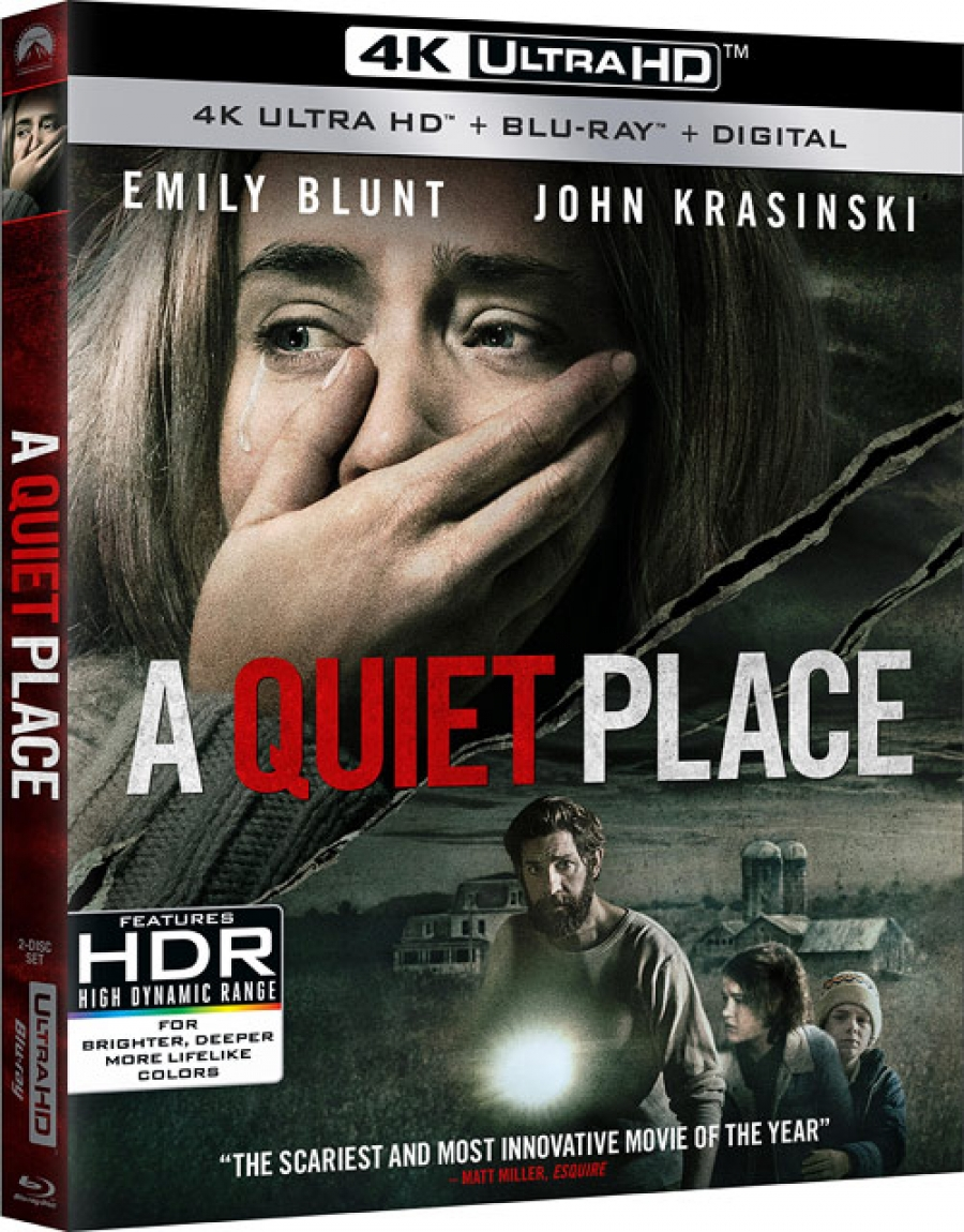 A Quiet Place Rampage Bad Boys 1 2 Plus Our Review Of Jurassic Park 4k More 4k Bd Reviews