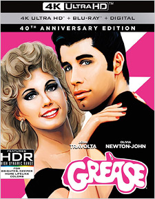 Grease: 40th Anniversary Edition (4K UHD Review)