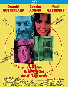 Man, a Woman, and a Bank, A (Blu-ray Review)