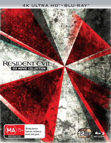 Resident Evil: Six Movie Collection (Australian Import) (4K UHD Review)