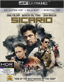 Sicario (4K UHD Review)