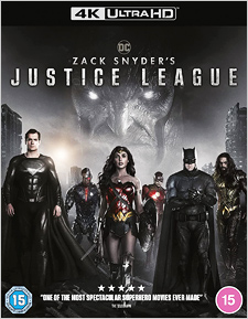 Zack Snyder's Justice League (UK Import) (4K UHD Review)